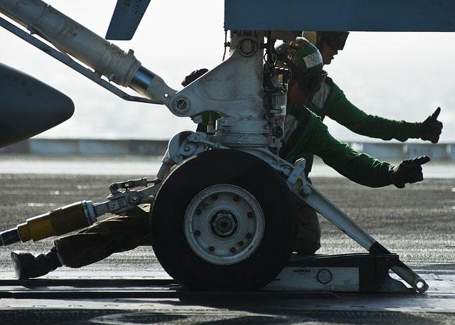 Profesión de mecánico de aviones.