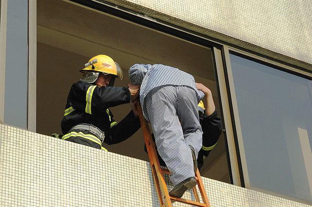 Profesión de bomberos (excepto forestales).