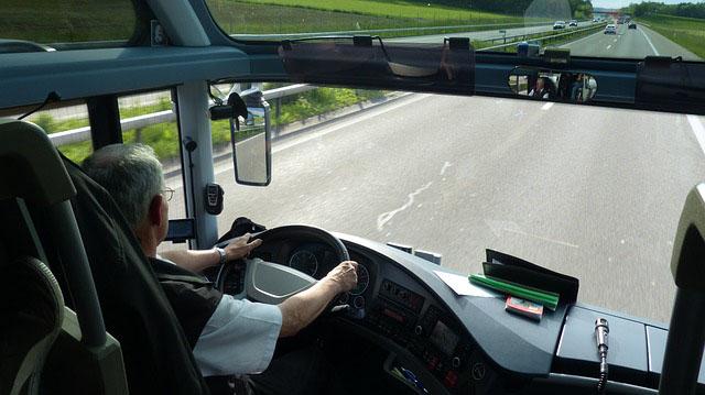 Profesión de conductor de autobuses y tranvías.