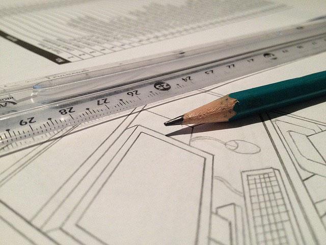 Profesión de delineante o dibujante técnico.