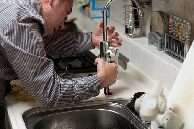 Profesión de fontanero.