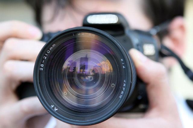 Profesión de fotógrafo.