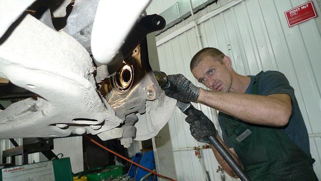 Profesión de mecánico de vehículos de motor.
