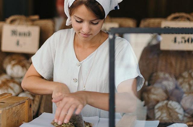 Profesión de panadero, pastelero o confitero.
