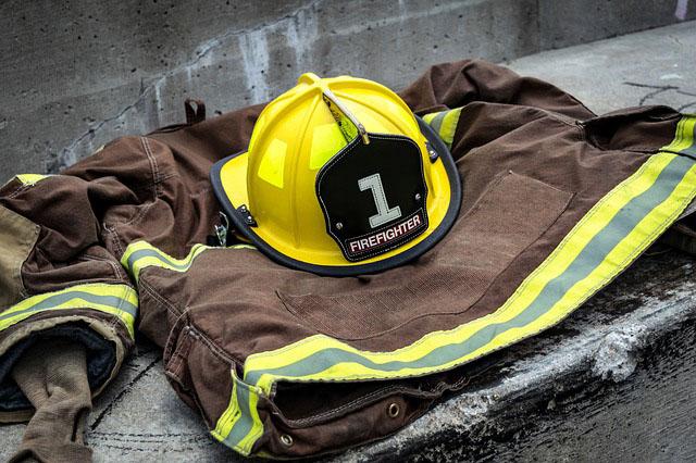 Profesión de bomberos forestales.