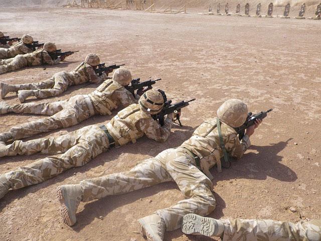 Profesión de militar o soldado.